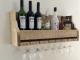 wijnrek van steigerhout